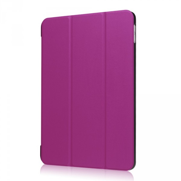 iPad 9.7 2017 - Tri-fold Smart Leder Case violett