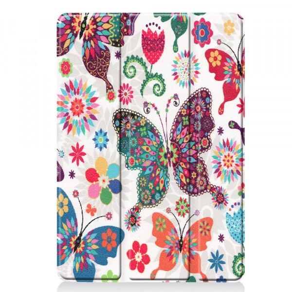 iPad 10.2 - Tri-fold Smart Case Schmetterlinge