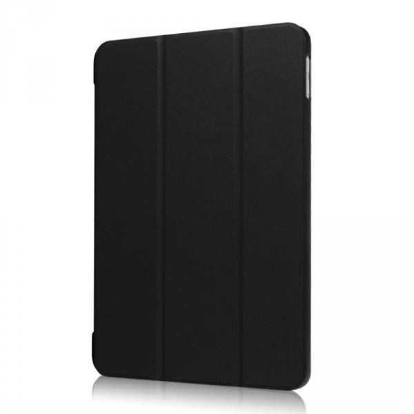 iPad 9.7 2017 - Tri-fold Smart Leder Case schwarz