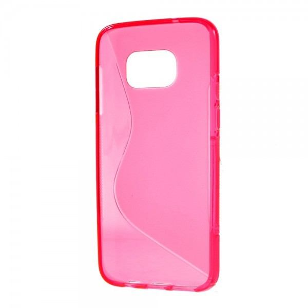 Galaxy S8 - S-Line Silikon Gummi Hülle Case pink