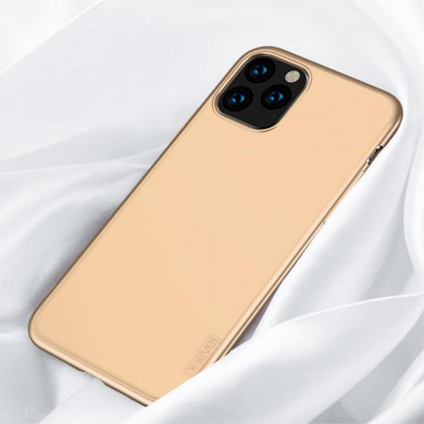 iPhone 11 Pro Max - X-LEVEL Guardian Silikon Gummi Case gold