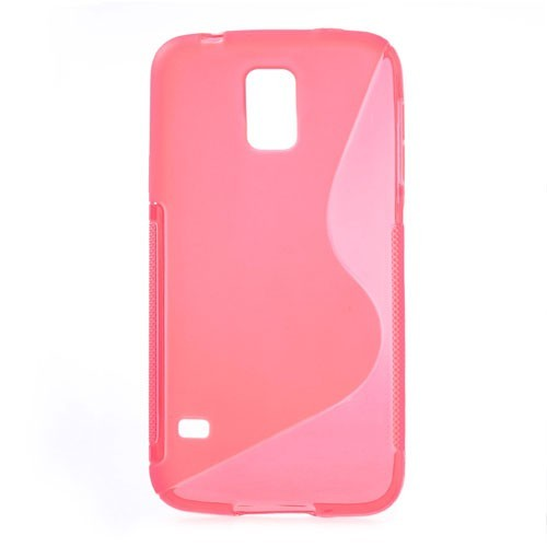 Samsung Galaxy S5 - S-Line Silikon Case pink