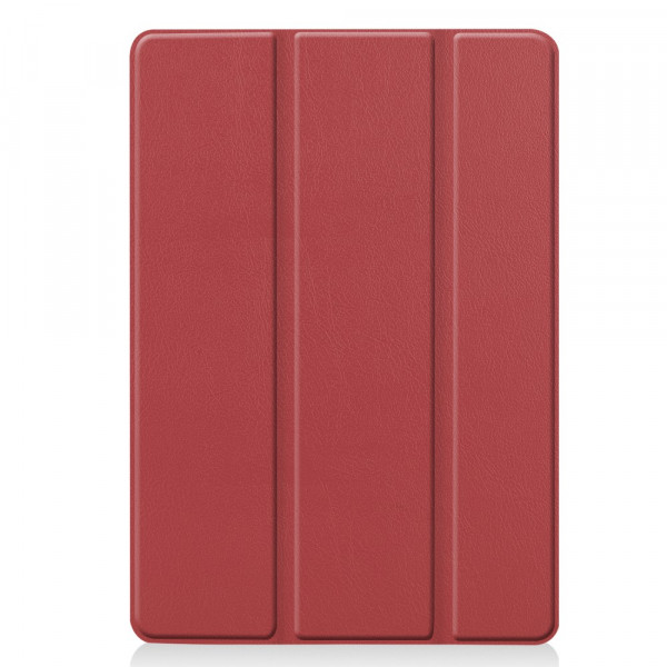 iPad 10.2 - Tri-fold Smart Leder Case rot