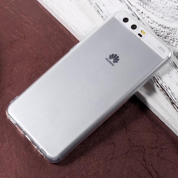 Huawei P10 - Ultra dünne Silikon Gummi Hülle transparent
