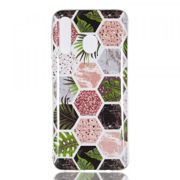 Galaxy A50 - Softes Silikon Gummi Case Marble